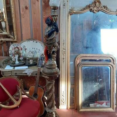 "Светильник ""Мавр"". в стиле Эклектика, Франция, конец 20 века"