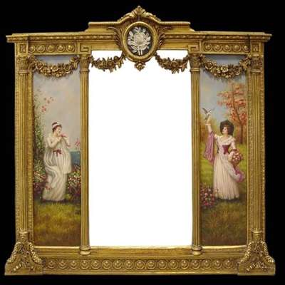 Зеркало в стиле Барокко Бельгия, конец 20 века