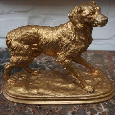 Статуэтка собаки. в стиле Классицизм (классика) Франция, начало 20 века