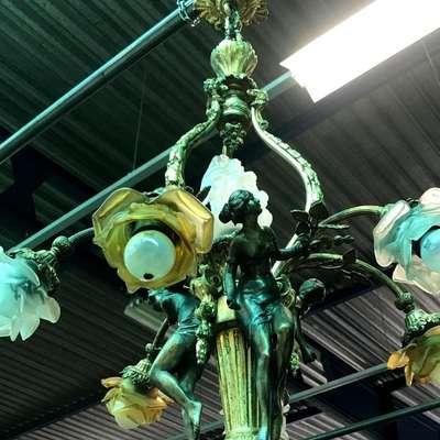 Люстра в стиле Эклектика Бельгия, конец 19 века