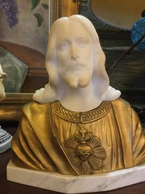 Бюст Иисуса . Мрамор в наличии
