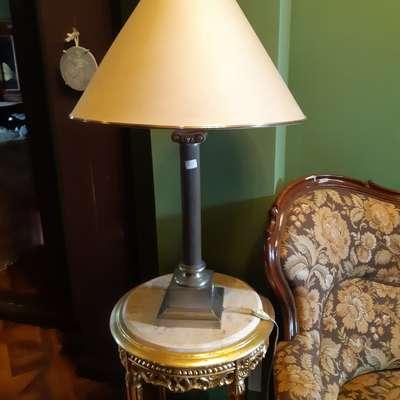 Лампа настольная в стиле Ампир Бельгия, середина 20 века