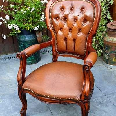 Кресло в стиле Королевы Анны, Франция, начало 20 века