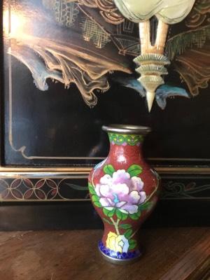 Ваза Клуазоне в стиле Восточный в наличии, Бельгия, середина 20 века