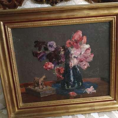 Картина в стиле Винтаж Франция, начало 20 века