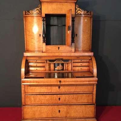 Антикварное бюро 19 век в стиле Византийский Бельгия, начало 19 века