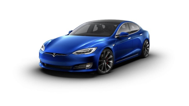 Tesla Model S P90D facelift