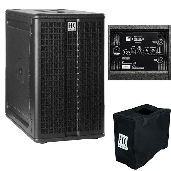 Caisson de basses E110 SUB actif HK Audio éléments 600 watts