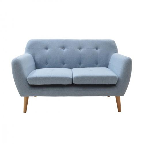 Canapé design scandinave bleu