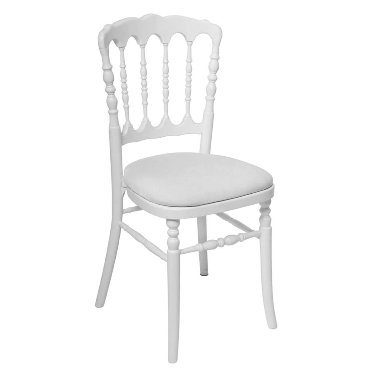 Chaise Napoléon blanche