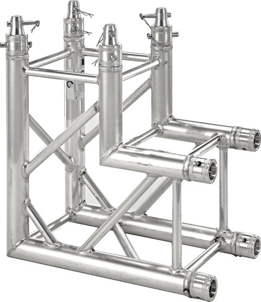 Angle structure pont Alu carré 2D