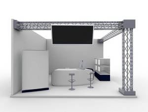 Salon, stand exposition