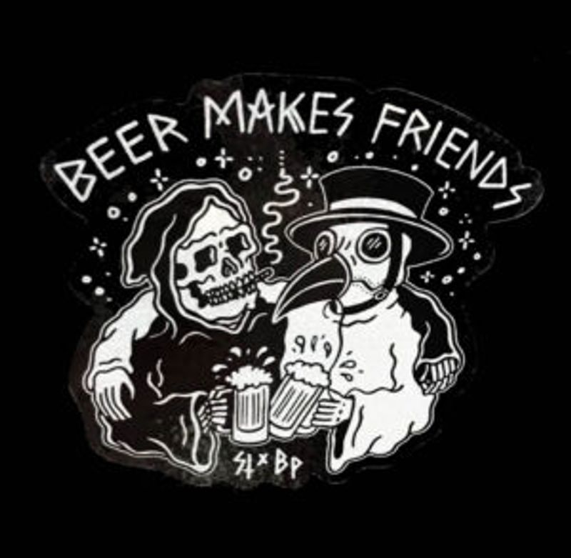 BEER MAKES INDUSTRY FRIENDS - NO FOOD VENDOR - BYOF - BRING YOUR OWN FOOD