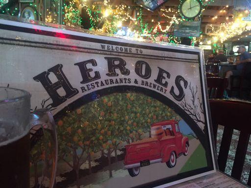 HEROES  RESTAURANT BAR & GRILL