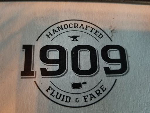 1909 Hand Crafted Fluid & Fare