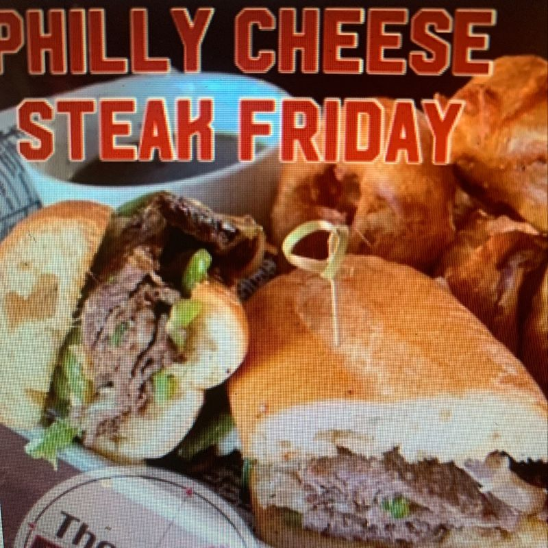 Philly Cheese Steak Friday!!
