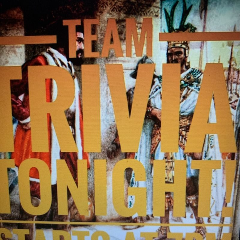 Trivia Tuesday's !!!