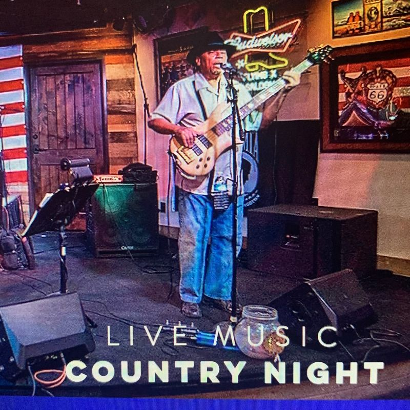 Live Country Music !!!   7pm
