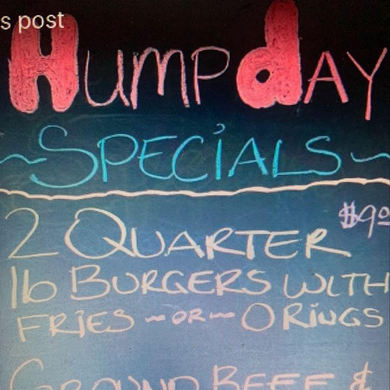Humpday Specials!!