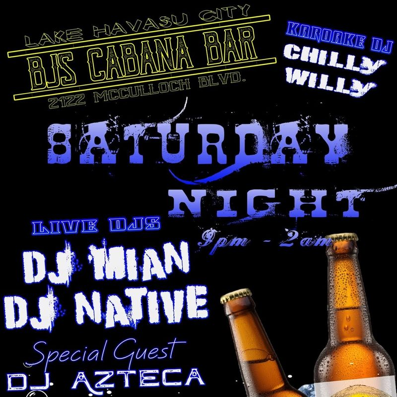 Saturday Night Party!!!   9pm