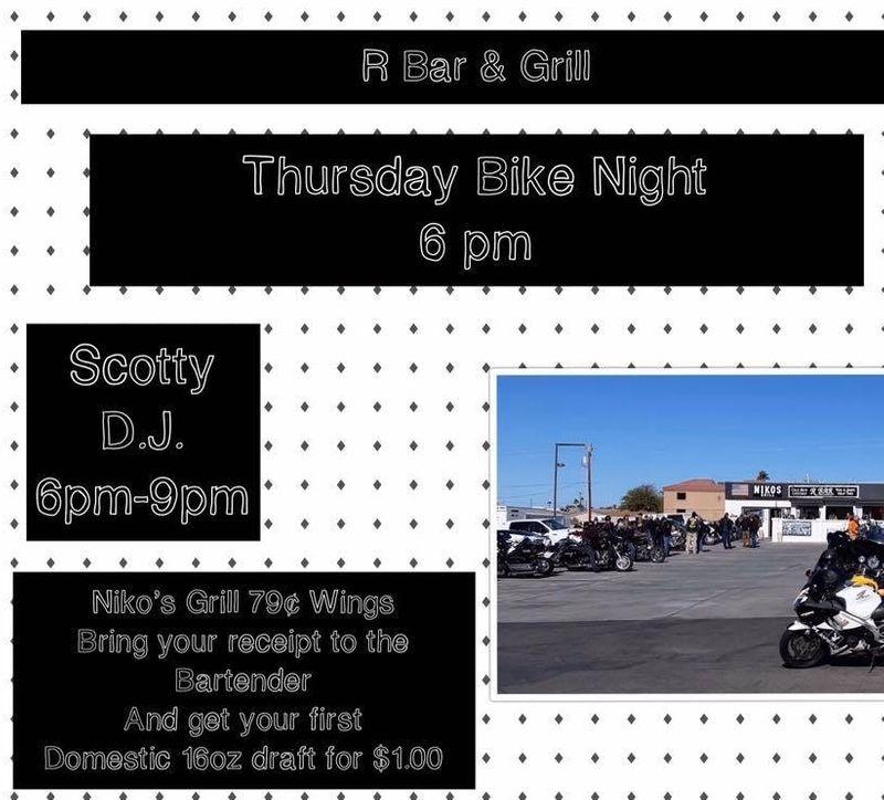 Thursday Night Bike Night!!