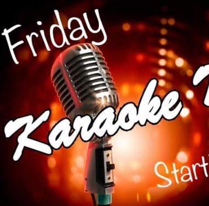 Friday Karaoke!!!   7pm