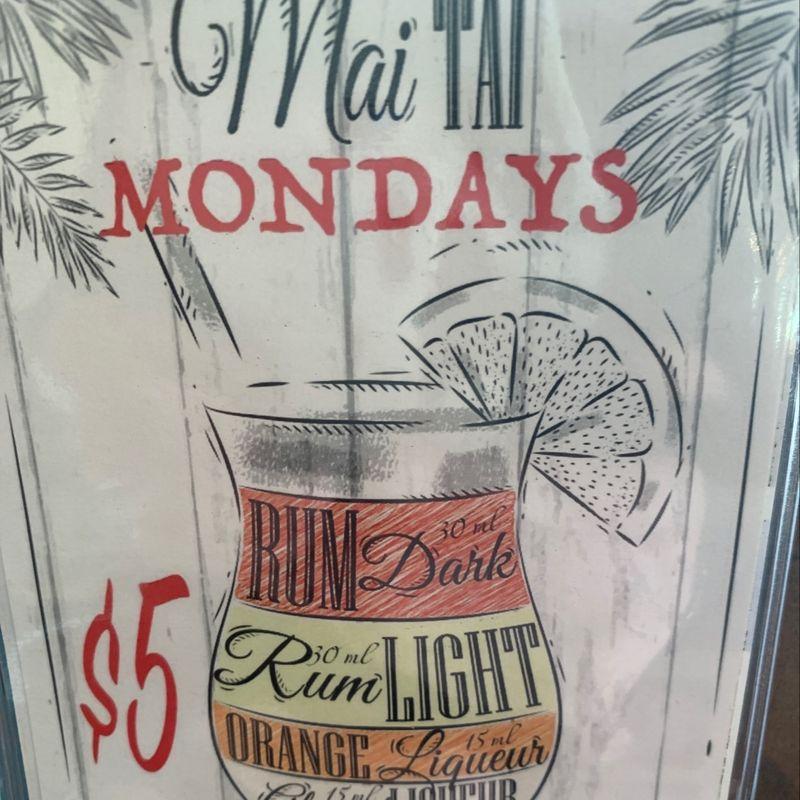 Mai Tai Monday's!!