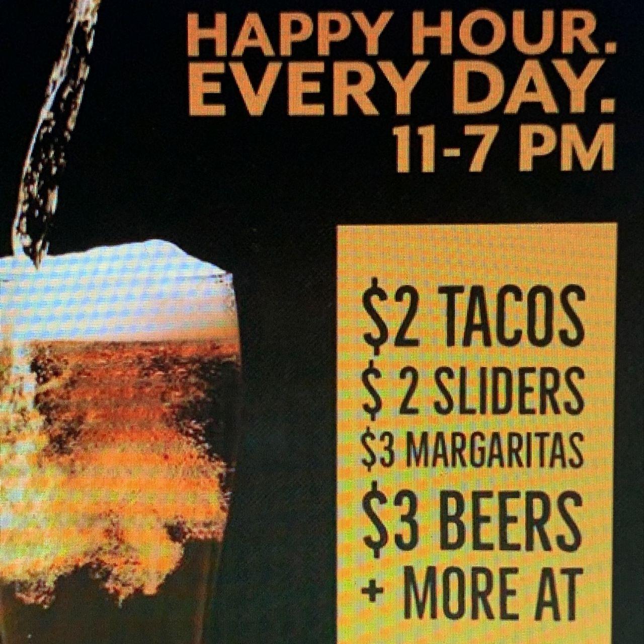 Happy Hour Wednesday Specials!!