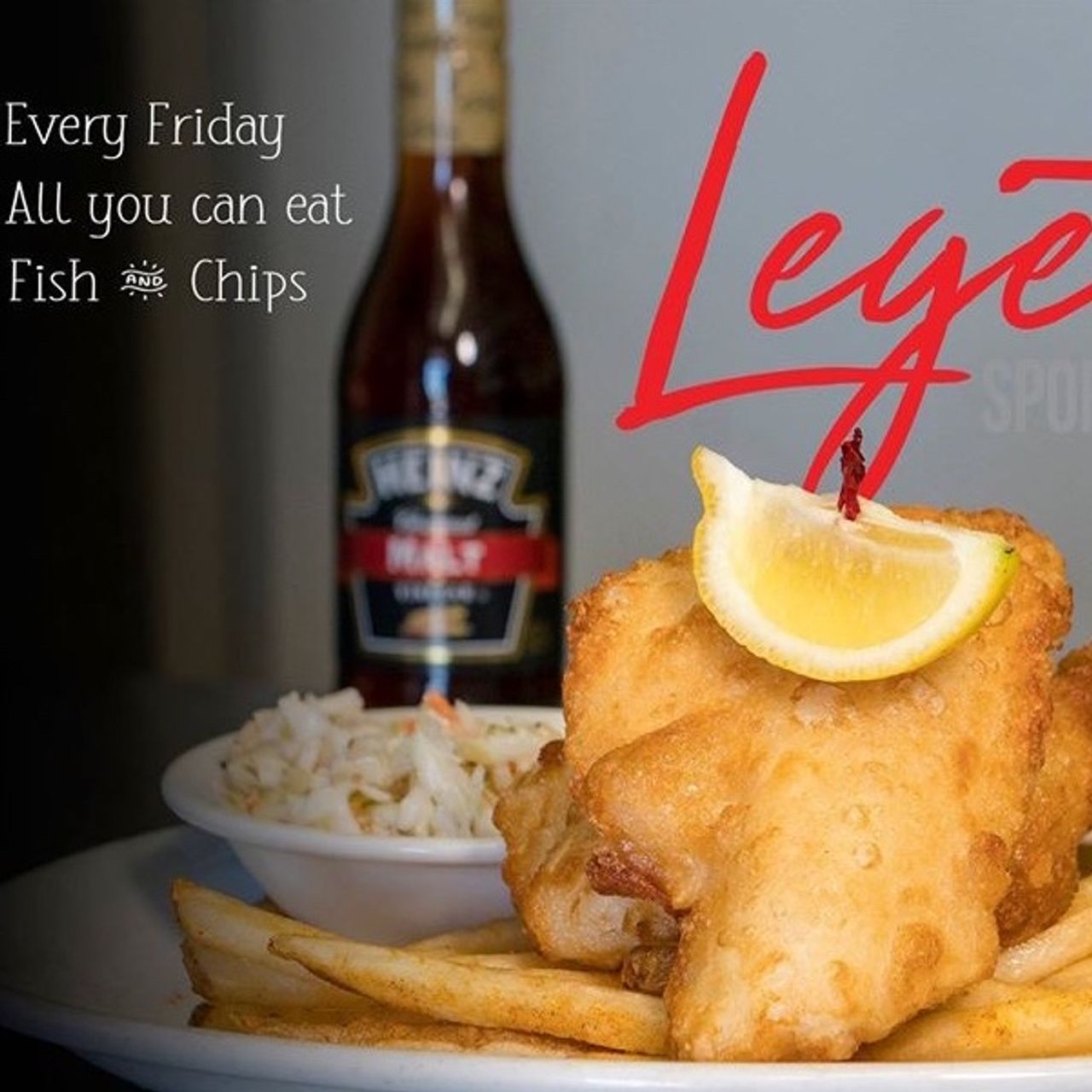 Fish Friday Specials!!  Take Out Only