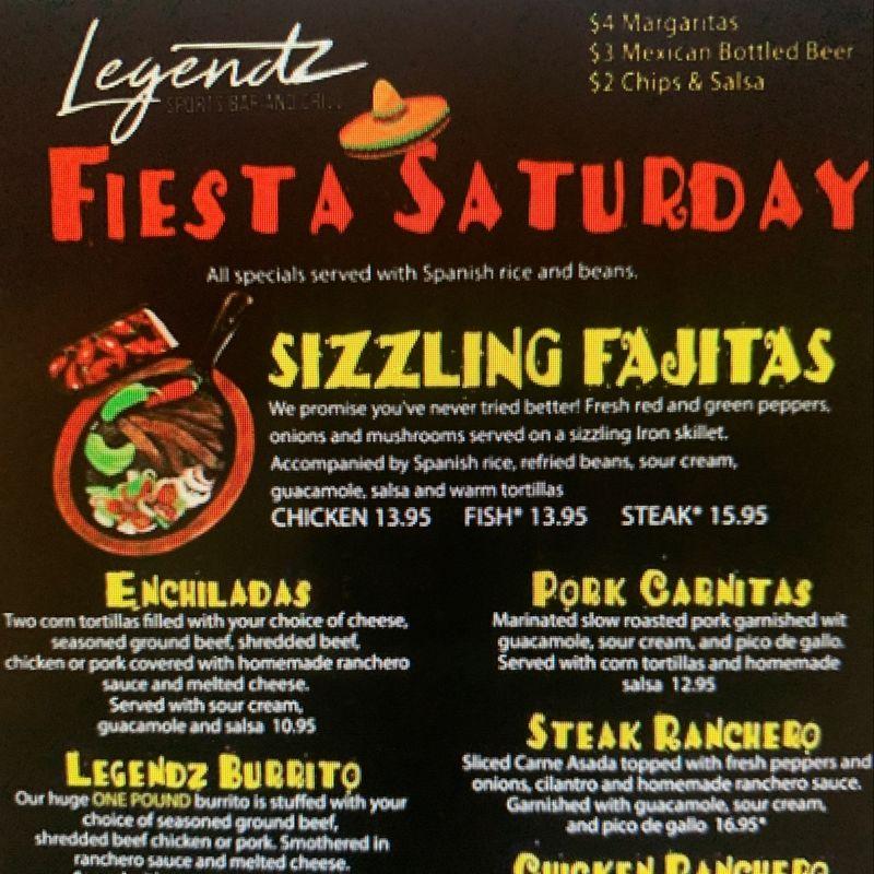 Fiesta Saturday's!!