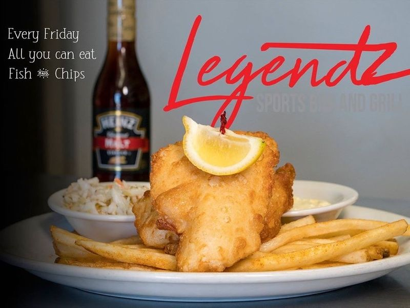 All You Can Eat Fish & Chips Special!!