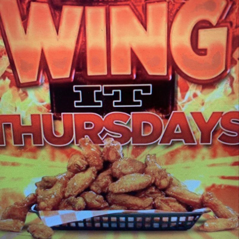 Wing it Thursday's!!
