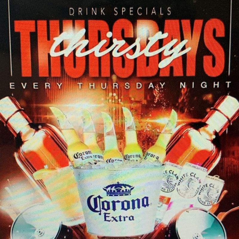 Thirsty Thursday's!!!