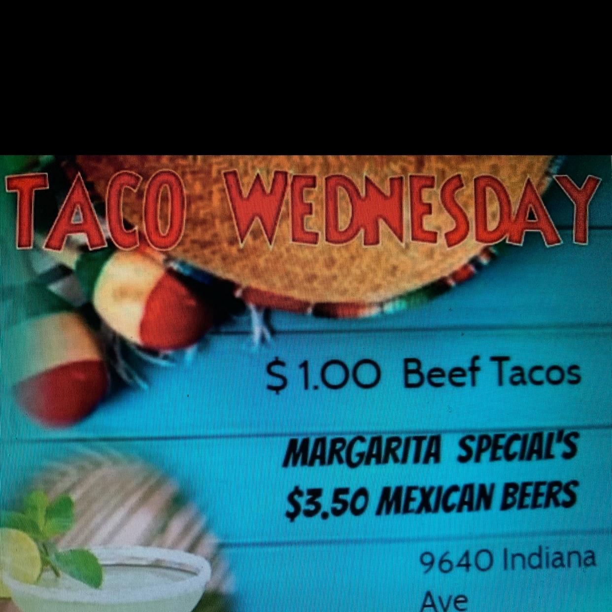 Taco Wednesday Specials!!