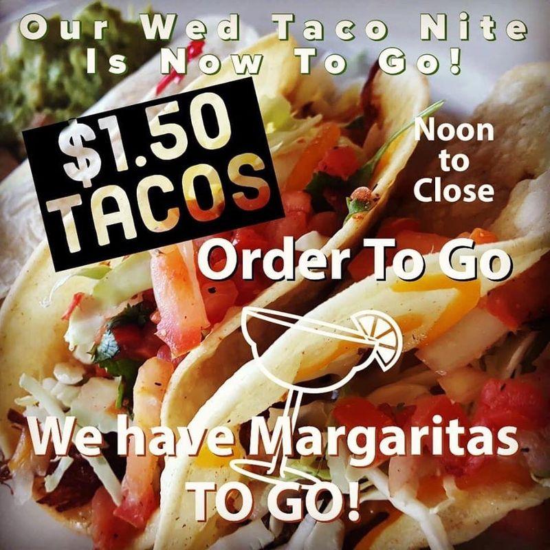 $1.50 Taco Tuesday Take Out!!!