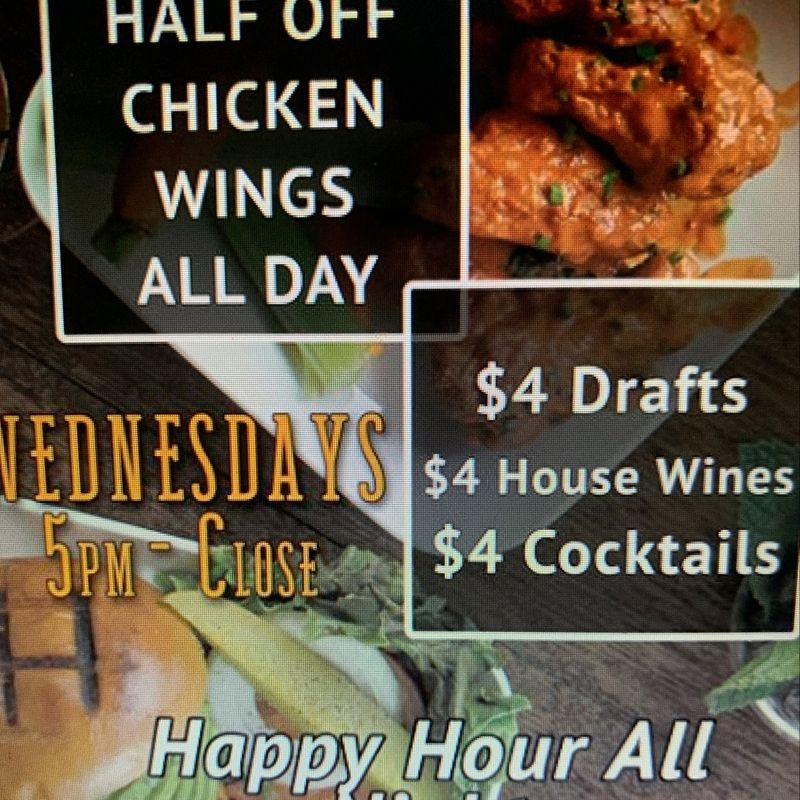 Wednesday Happy Hour Specials!!