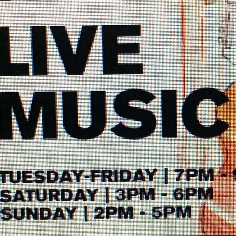 Live Music Friday's !!!