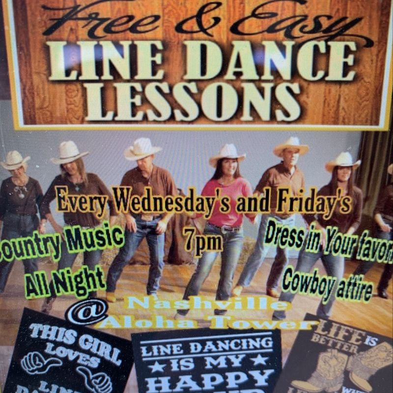 Country Friday's!!   Line Dancing!!  7pm