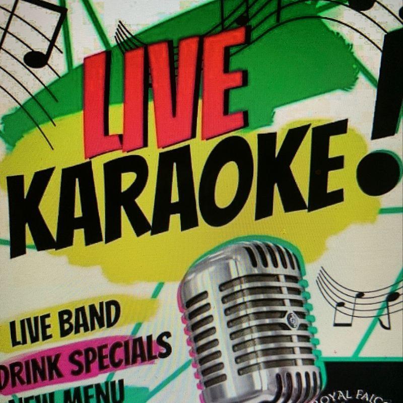 Monday Night Karaoke!!  10pm
