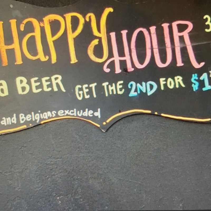 Happy Hour Specials!!  3-7pm