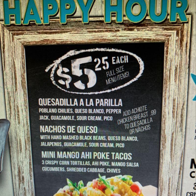 Wednesday Happy Hours Specials!!