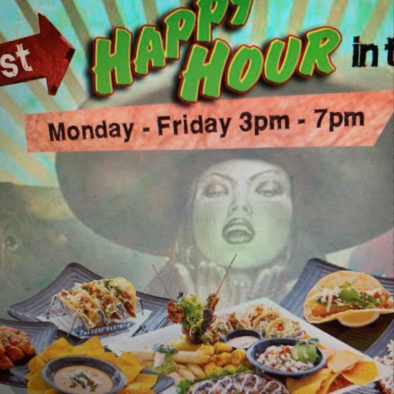 Monday Happy Hour Specials!!  3-7pm
