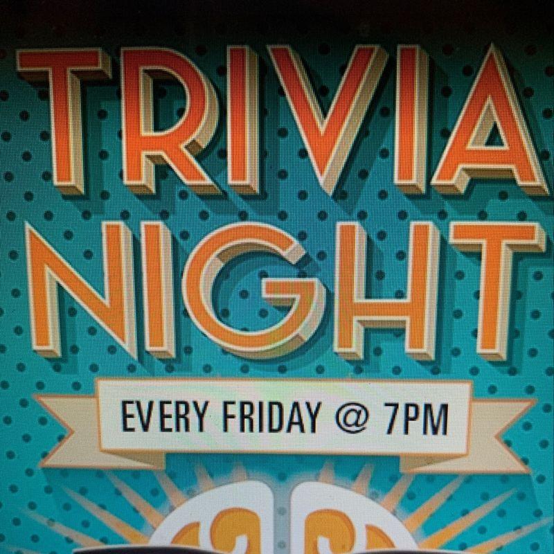 Trivia Night!!   7pm
