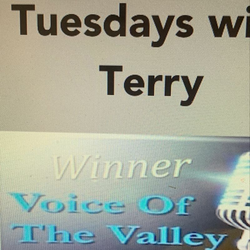 Tuesday's with Terry!!