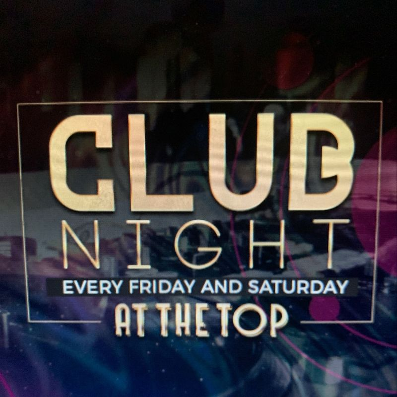 Saturday Club Night!!