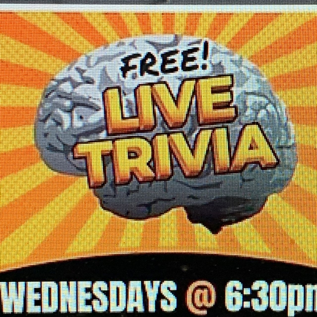 Trivia Wednesday's!!   6:30pm