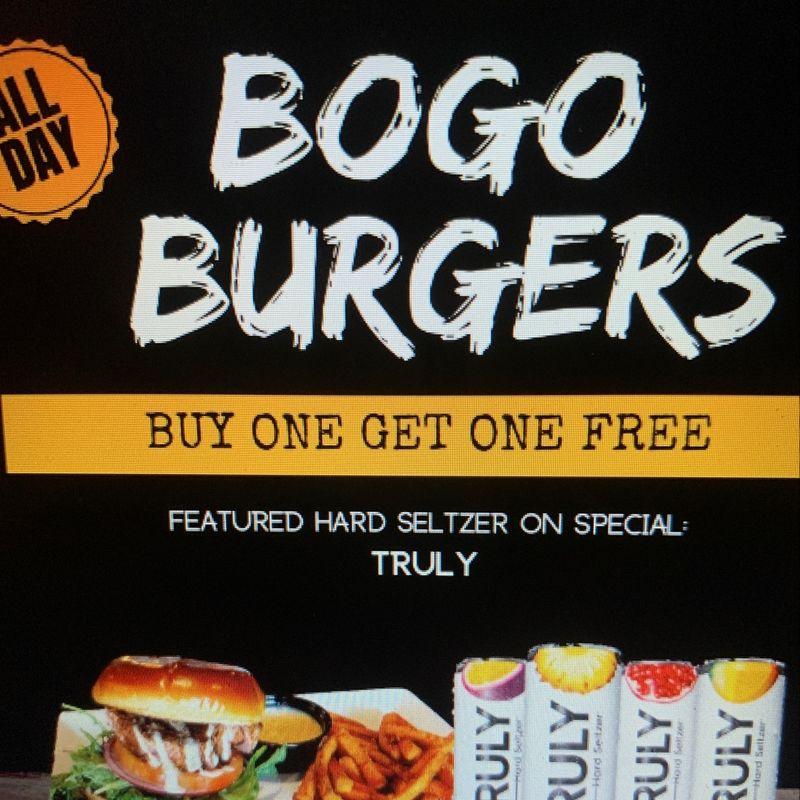 BOGO BURGERS!!!