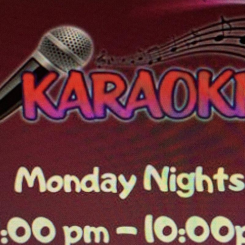 Karaoke Monday's!!