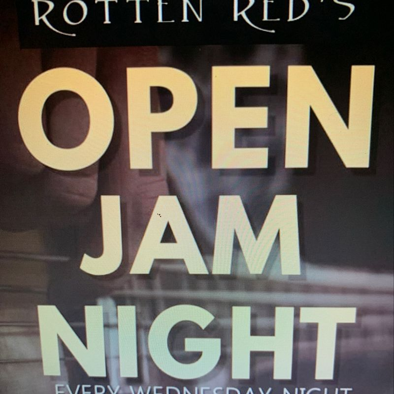 Open Jam Night!!!  8pm