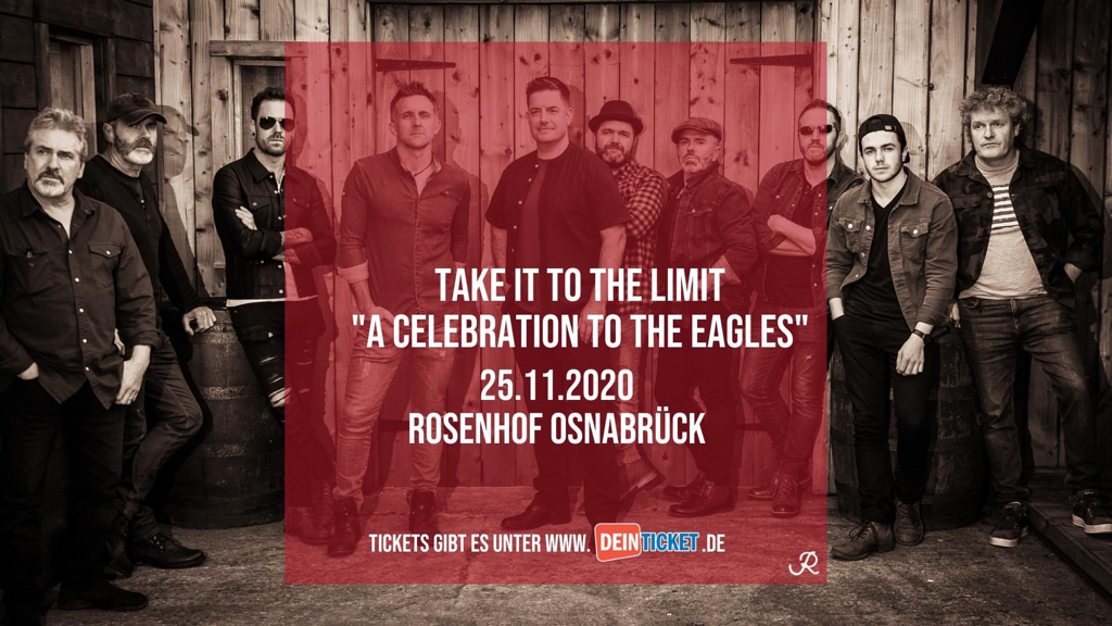 Take it to the Limit - Eagels Tribute | Rosenhof, Osnabrück